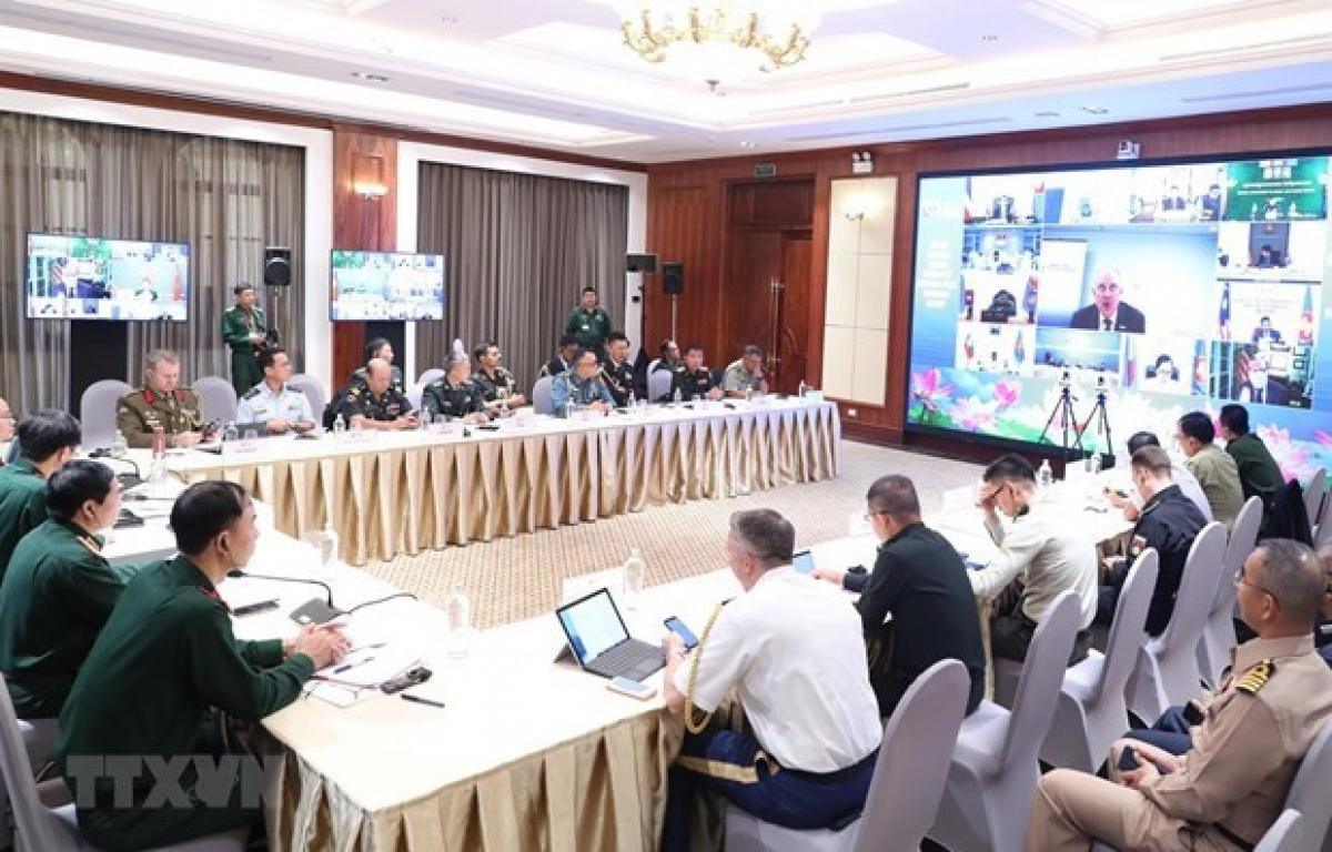 A meeting ofADSOM+ WG held in Hanoi in 2020