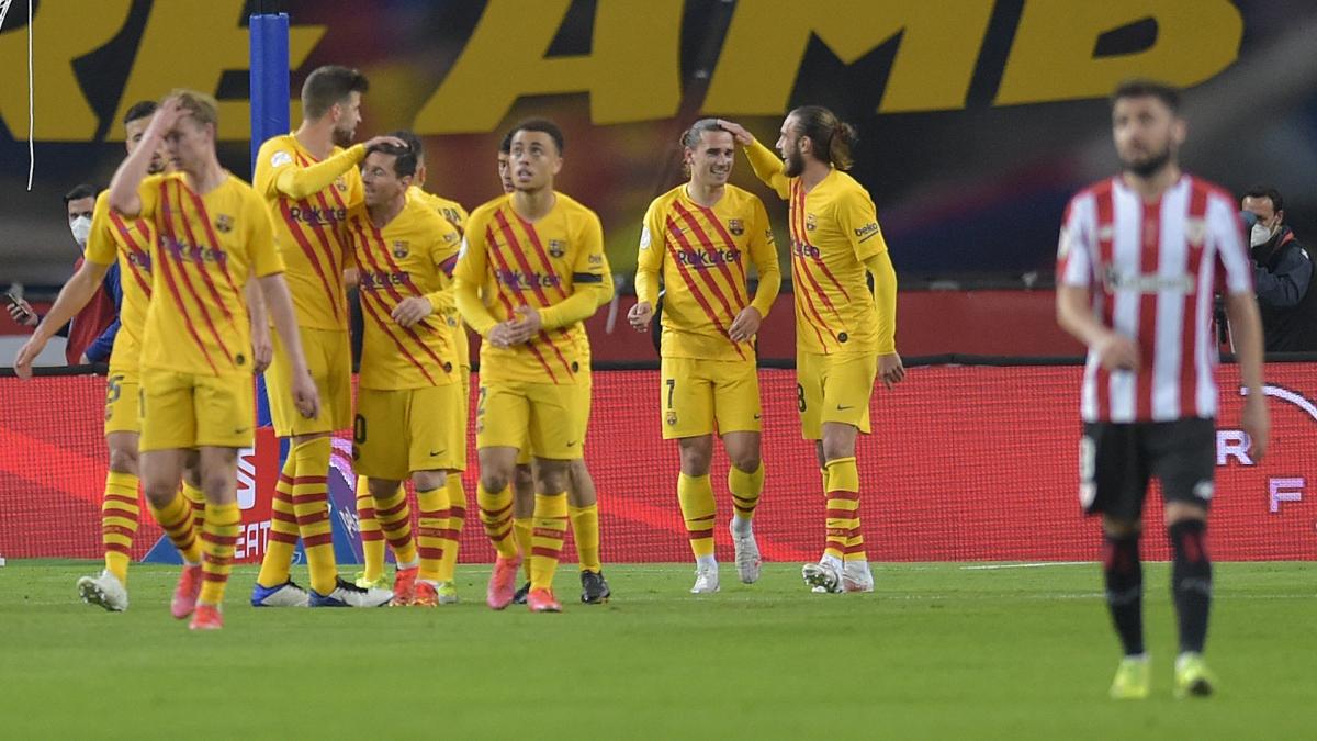 Barca có trận đấu xuất sắc. (Ảnh: Getty).