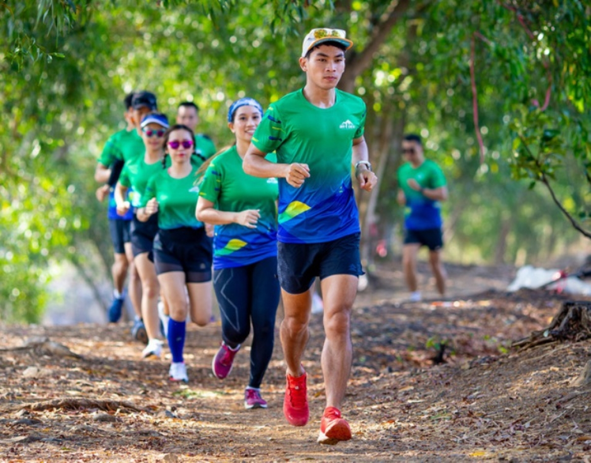 Athletes are training for the upcoming Ba Den Mountain Marathon
