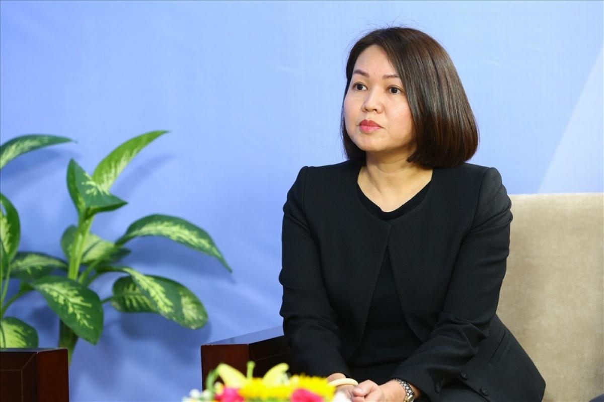 Bà Trần Việt Nga - Phó Cục trưởng Cục An toàn thực phẩm - Bộ Y tế.