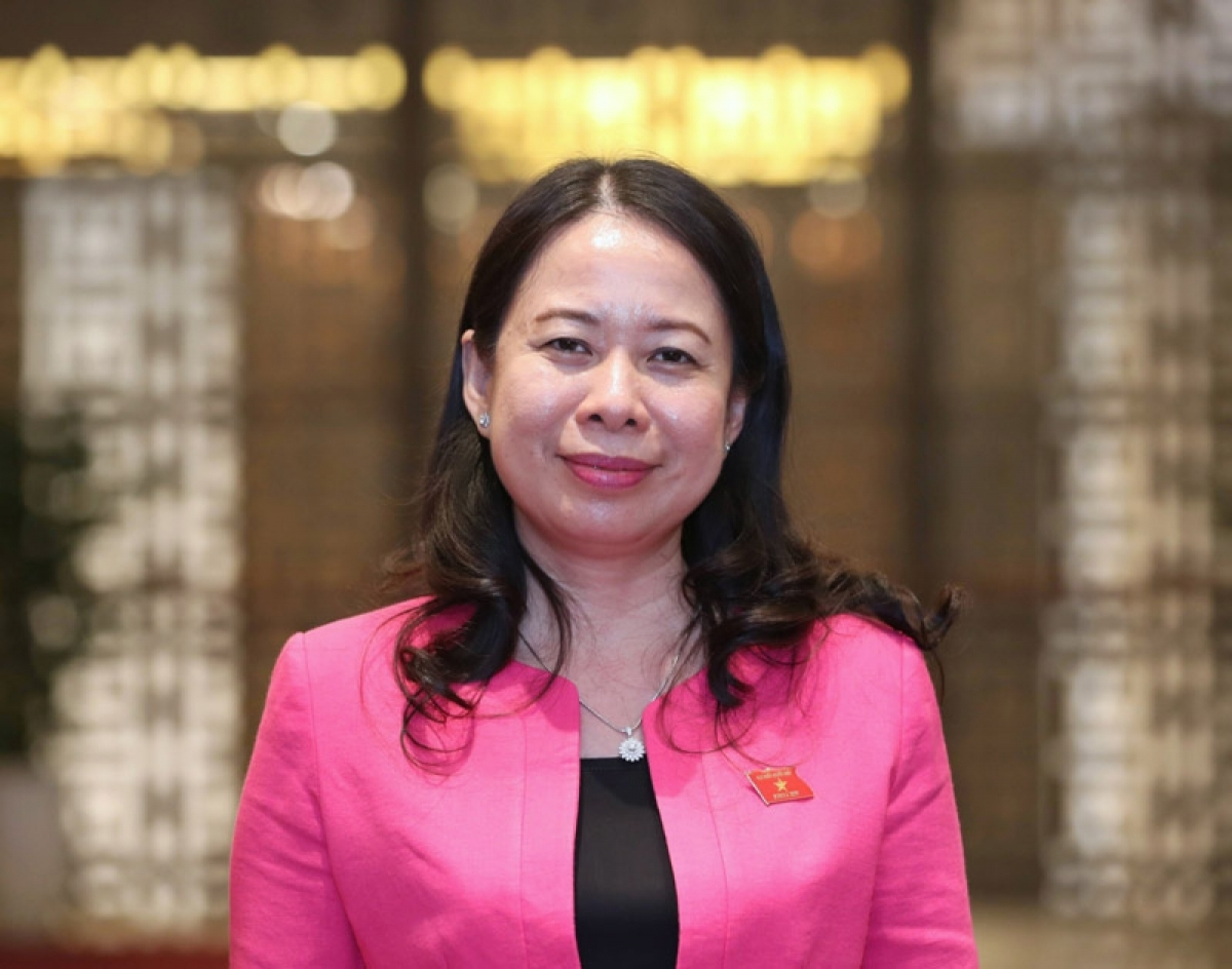 Vo Thi Anh Xuan iselected Vice State President of Vietnam for the 2016 – 2021 tenure