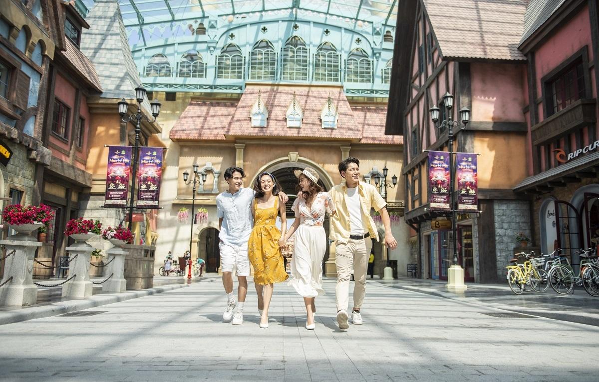 """Siêu quần thể du lịch nghỉ dưỡng Phú Quốc United Center hứa hẹn trở thành """"điểm đến quốc tế mới"""" của châu Á."""