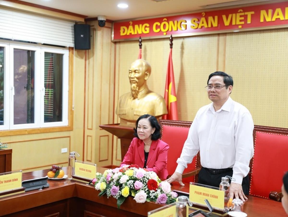 Thủ tướng Chính phủ Phạm Minh Chính phát biểu.