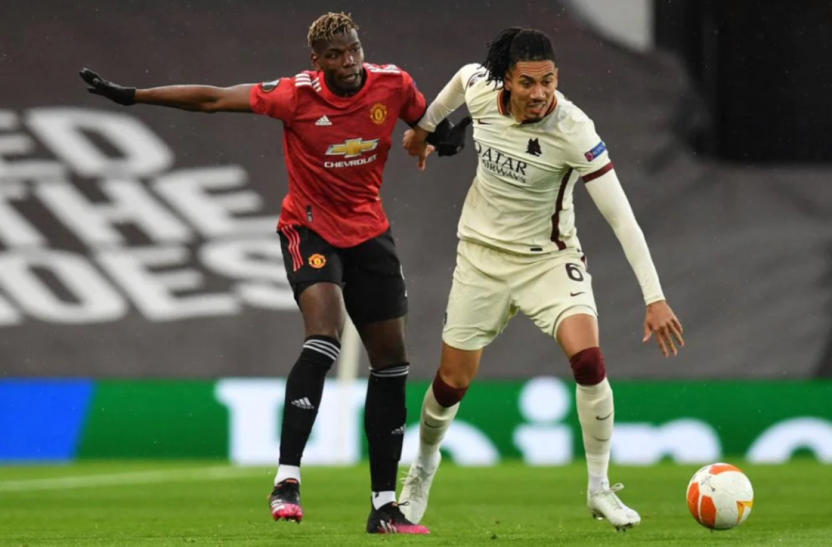 Pogba là tâm điểm trong cả 2 bàn thắng đã qua của trận đấu. (Ảnh: UEFA).
