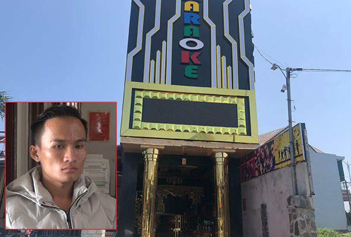 Cơ sở karaoke Hoàng Gia, nơi Tiên và đồng bọn nhốt các thiếu nữ buộc phải phục vụ khách, đưa đi bán dâm.