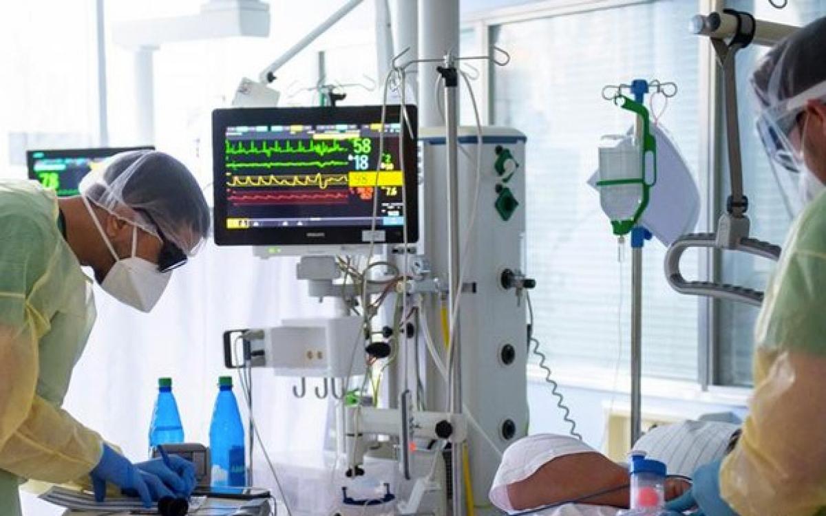Tình hình căng thẳng tại các bệnh viện Đức. Ảnh: DW.