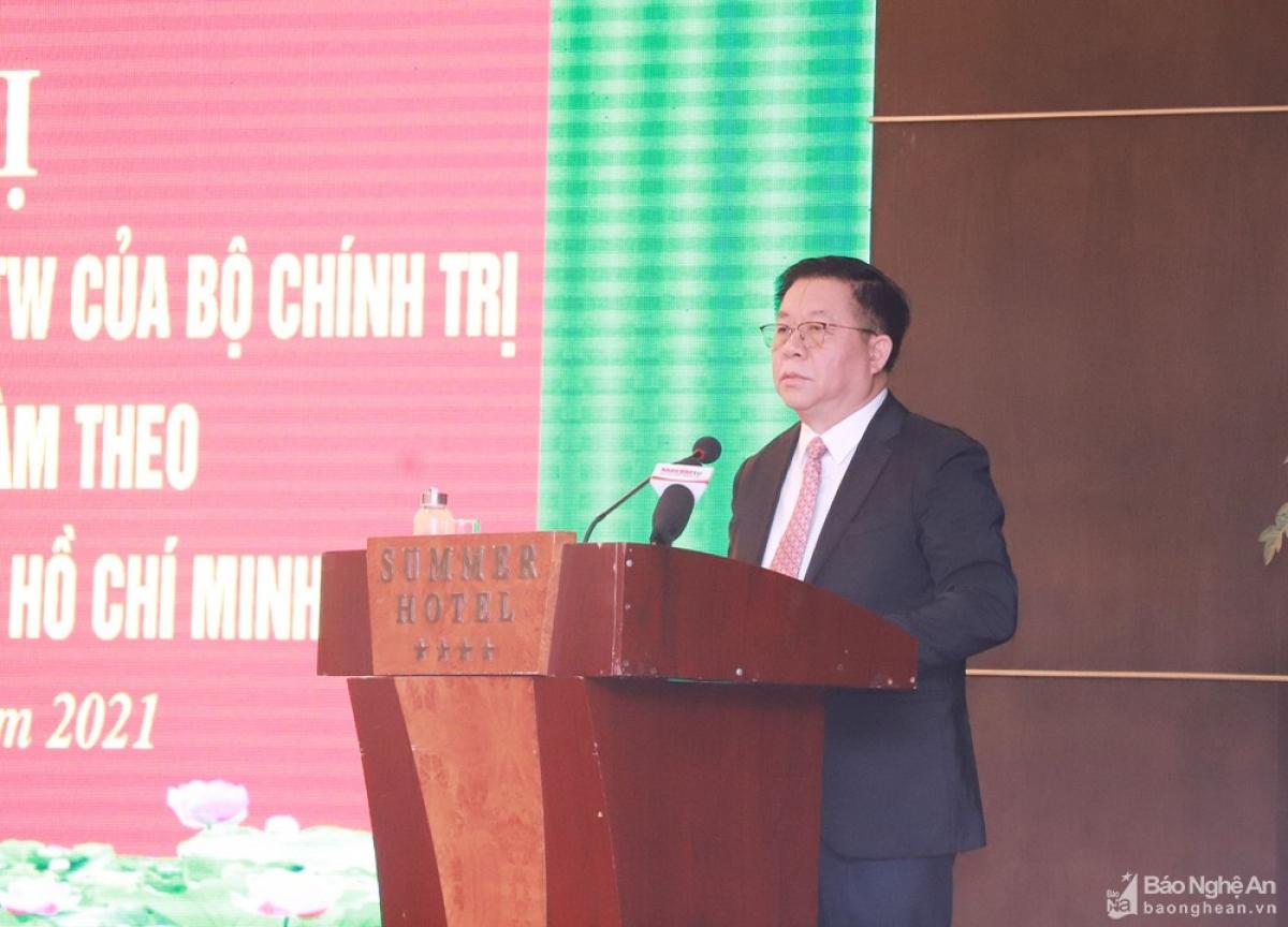 Trưởng Ban Tuyên giáo Trung ương - Nguyễn Trọng Nghĩa. Ảnh: Báo Nghệ An
