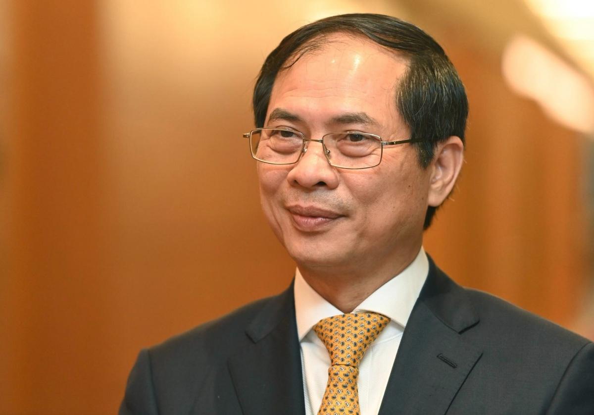 Bộ trưởng Bộ Ngoại giao Bùi Thanh Sơn.