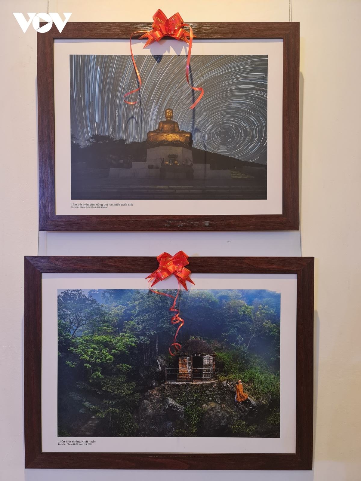 By putting on the exhibition the Vietnamese Buddhist Sangha hope that the photos can serve to promote images of various sightseeing spots, historical relic sites, and the culture of the Vietnamese Buddhism to both domestic and international tourists.