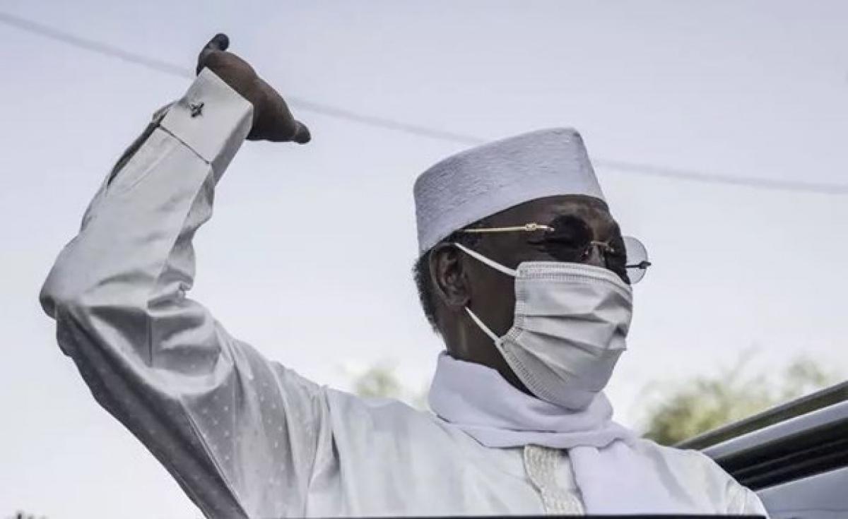 Tổng thống Cộng hòa Chad Idriss Deby Itno qua đời sau cuộc chiến với phiến quân (Ảnh: AFP)