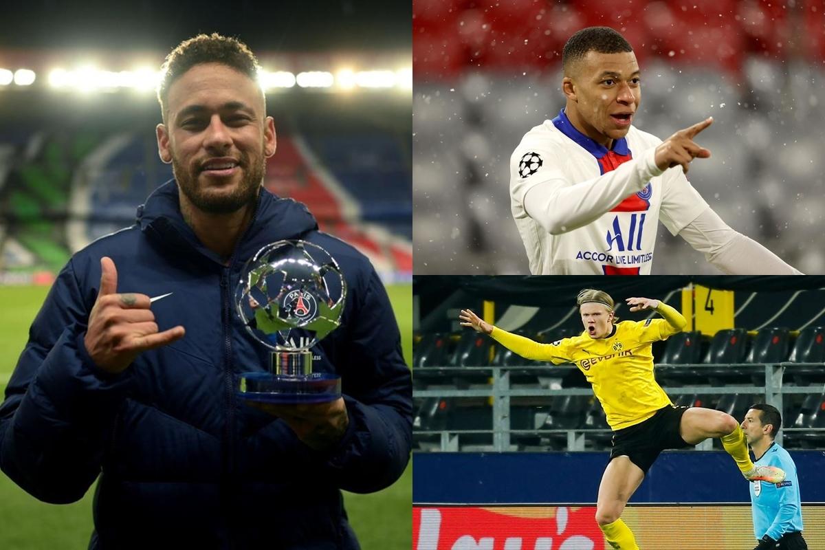 Top 10 cầu thủ ghi bàn nhiều nhất Champions League 2020/2021 gồm có: