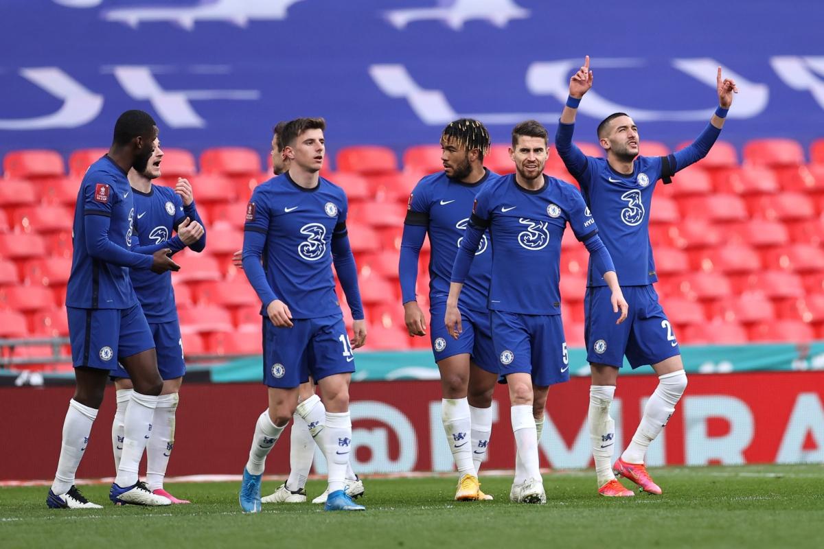 Chelsea đánh bại Man City 1-0 để vào chung kết FA Cup. (Ảnh: Getty).