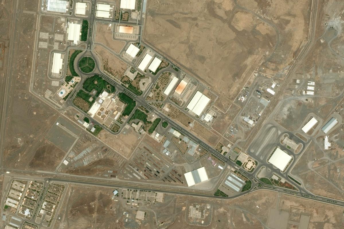 Cơ sở hạt nhân Natanz của Iran. Ảnh: Getty