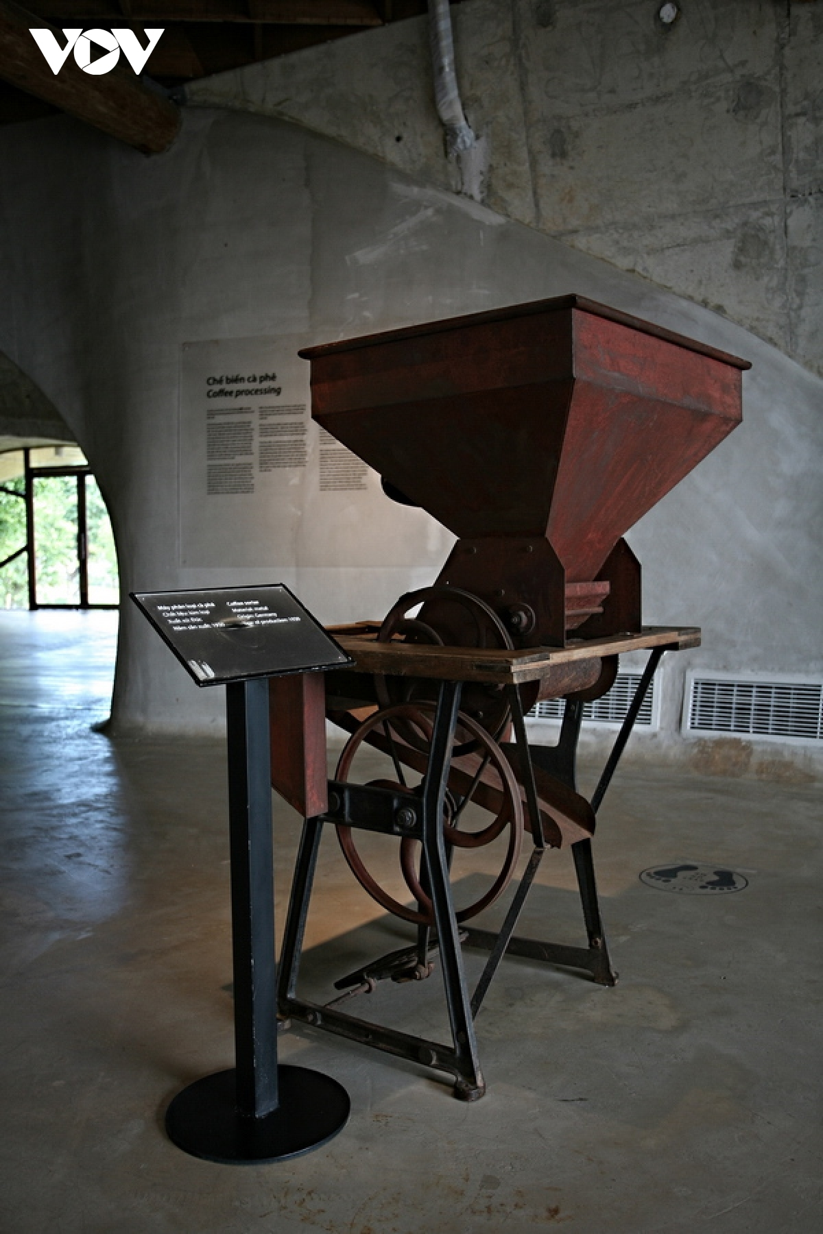 A coffee sorting machine manufactured in Germany in 1930