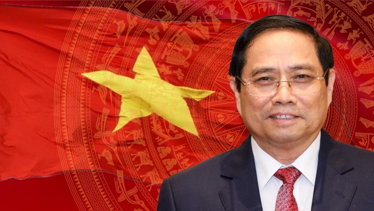 Thủ tướng Chính phủ nước Cộng hòa xã hội chủ nghĩa Việt Nam Phạm Minh Chính.