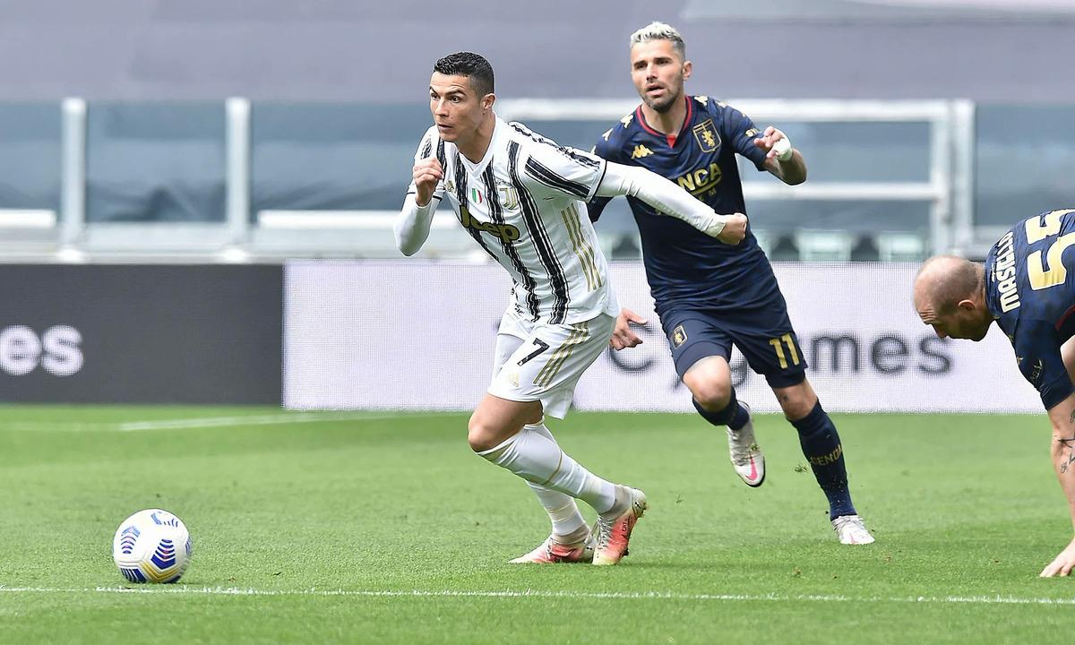 Trước Genoa, Cristiano Ronaldo đã có 6 pha dứt điểm nhưng không thể ghi bàn.