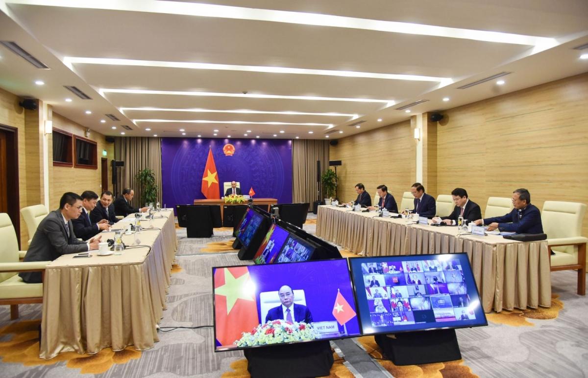 Đoàn Việt Nam tham dự Hội nghị thượng đỉnh về Khí hậu.