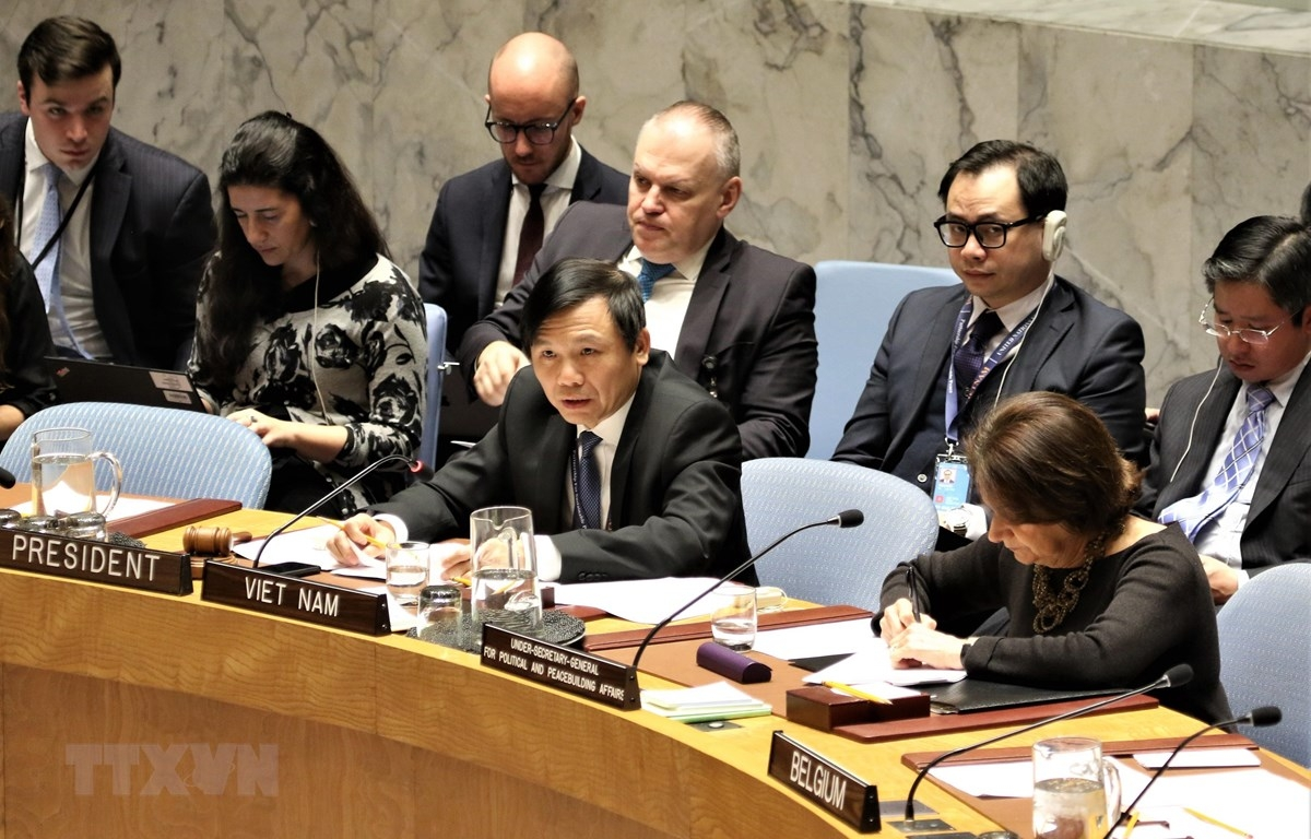 Ambassador Dang Dinh Quy, head of the Vietnamese delegation to the UN, believes Vietnam will fulfil its role for the second time this April. (Photo: VNA)