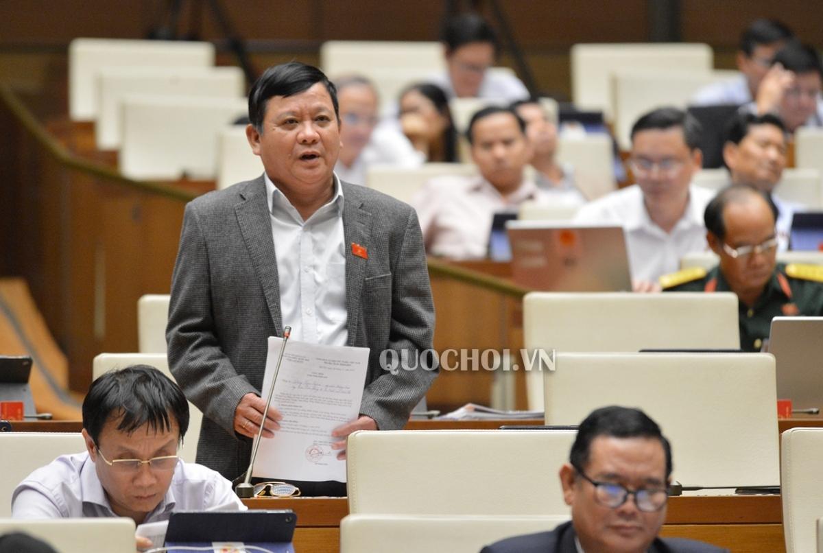 Đại biểu Đặng Ngọc Nghĩa, đoàn Thừa Thiên- Huế