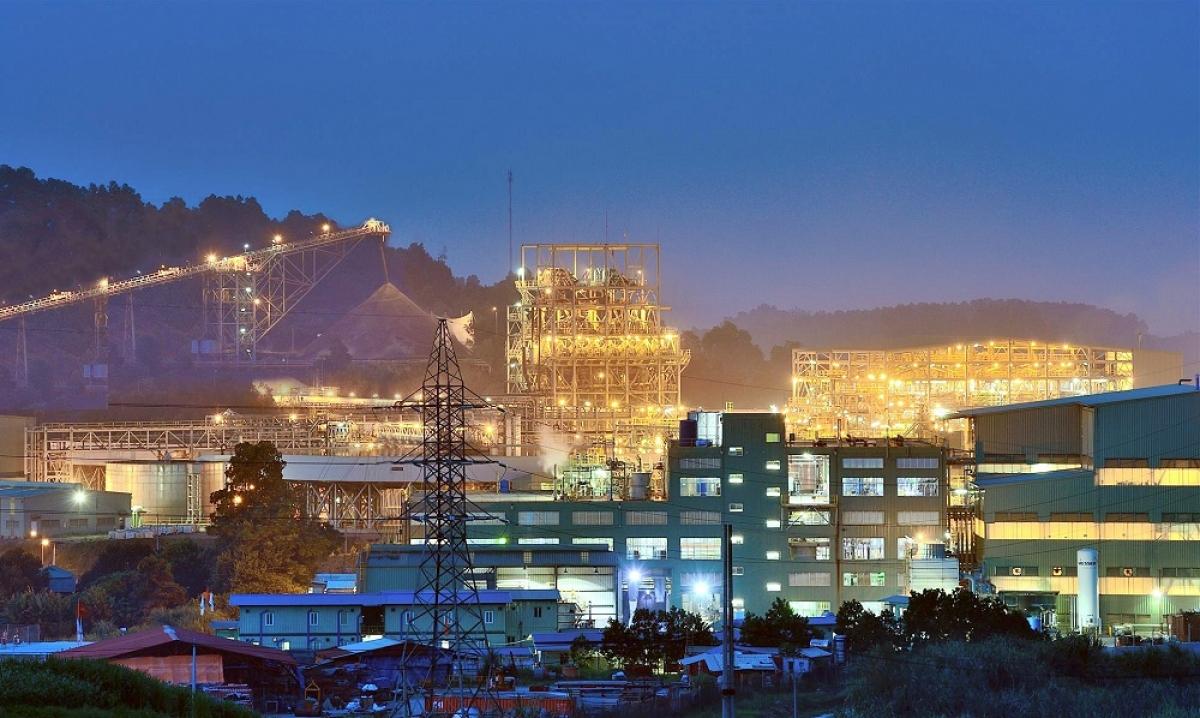 Dây chuyền nhà máy chế biến hiện đại tại mỏ đa kim Núi Pháo - Thái Nguyên