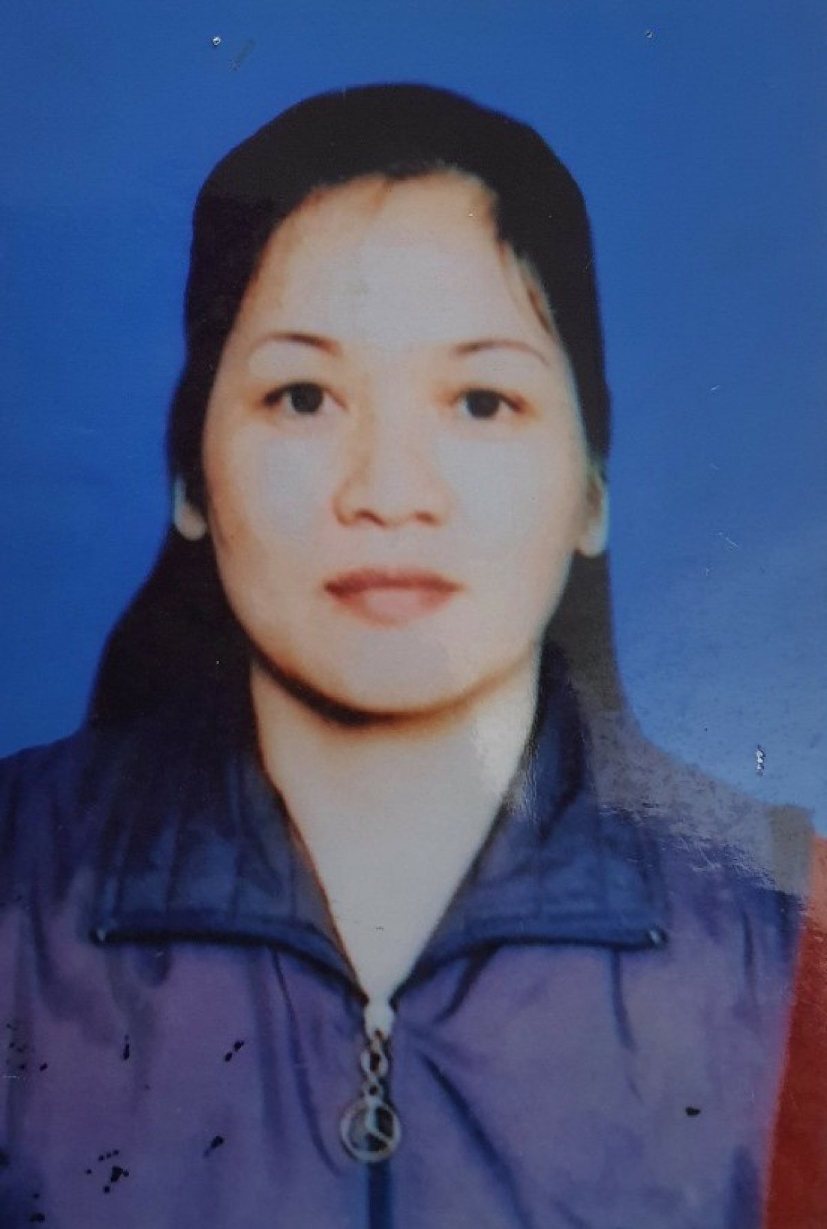 Đối tượng Trần Thị Tuyến trước khi bị truy nã.
