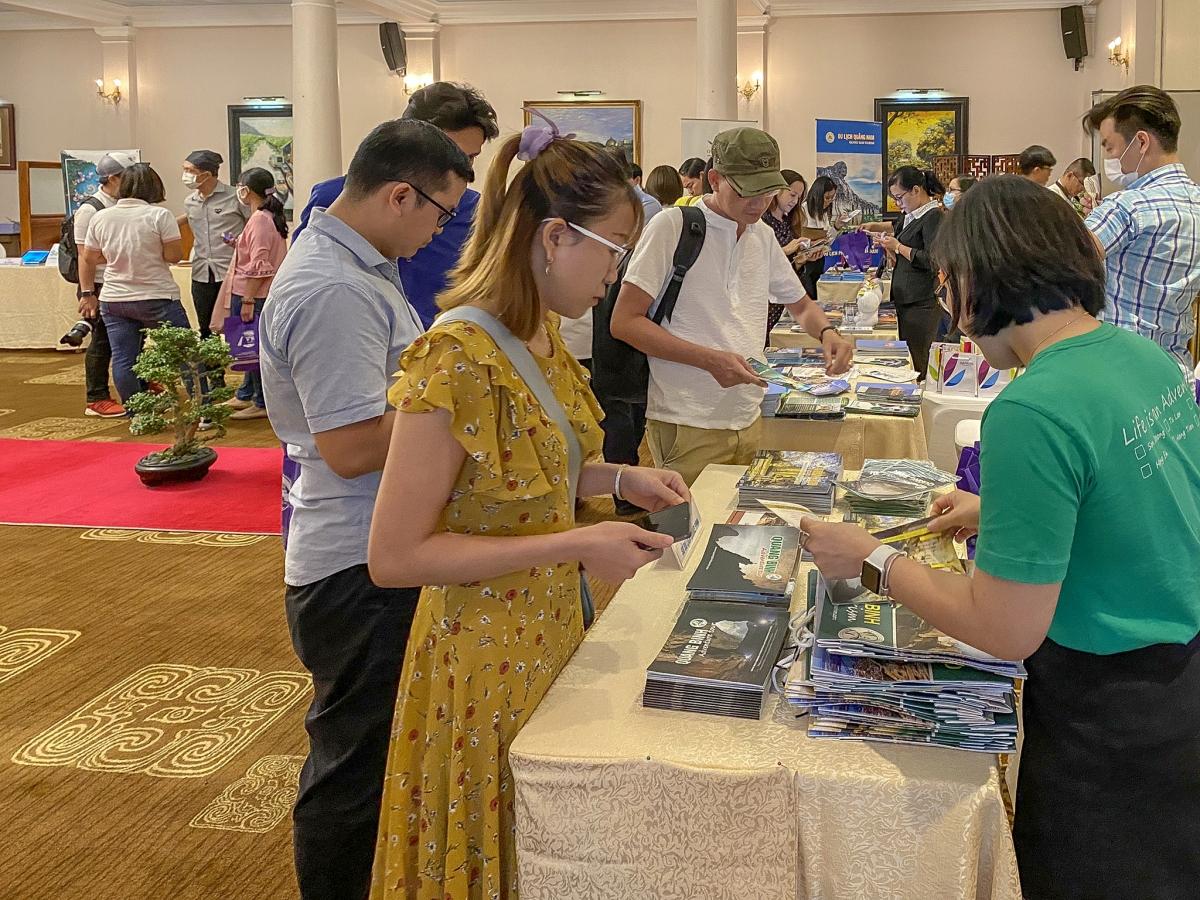 Doanh nghiệp du lịch Quảng Bình tham dự hoạt động B2B tại chương trình.Nguồn: Sở Du lịch Quảng Bình