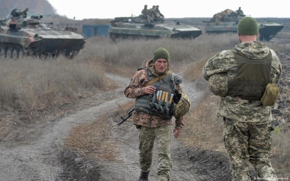 Vùng Donbass. Ảnh: Reuters.