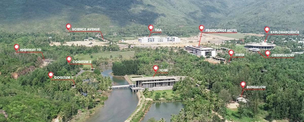 Dự án Trung tâm Quốc tế Khoa học và Giáo dục liên ngành (ICISE) tại Quy Nhơn
