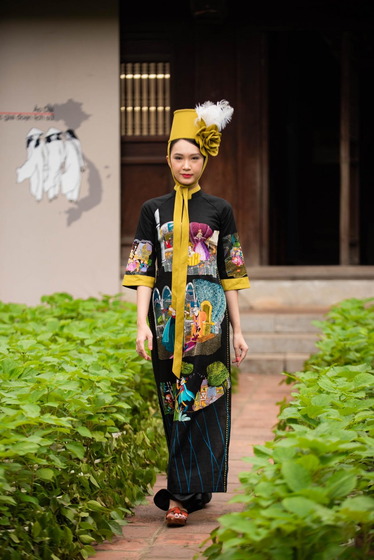 Theo nhà thiết kế Minh Hạnh, Tổng đạo diễn chương trình thì vải gai là một chất liệu truyền thống bị lãng quên nhiều năm và đã được sống lại, rất thân thiện và dễ chịu.