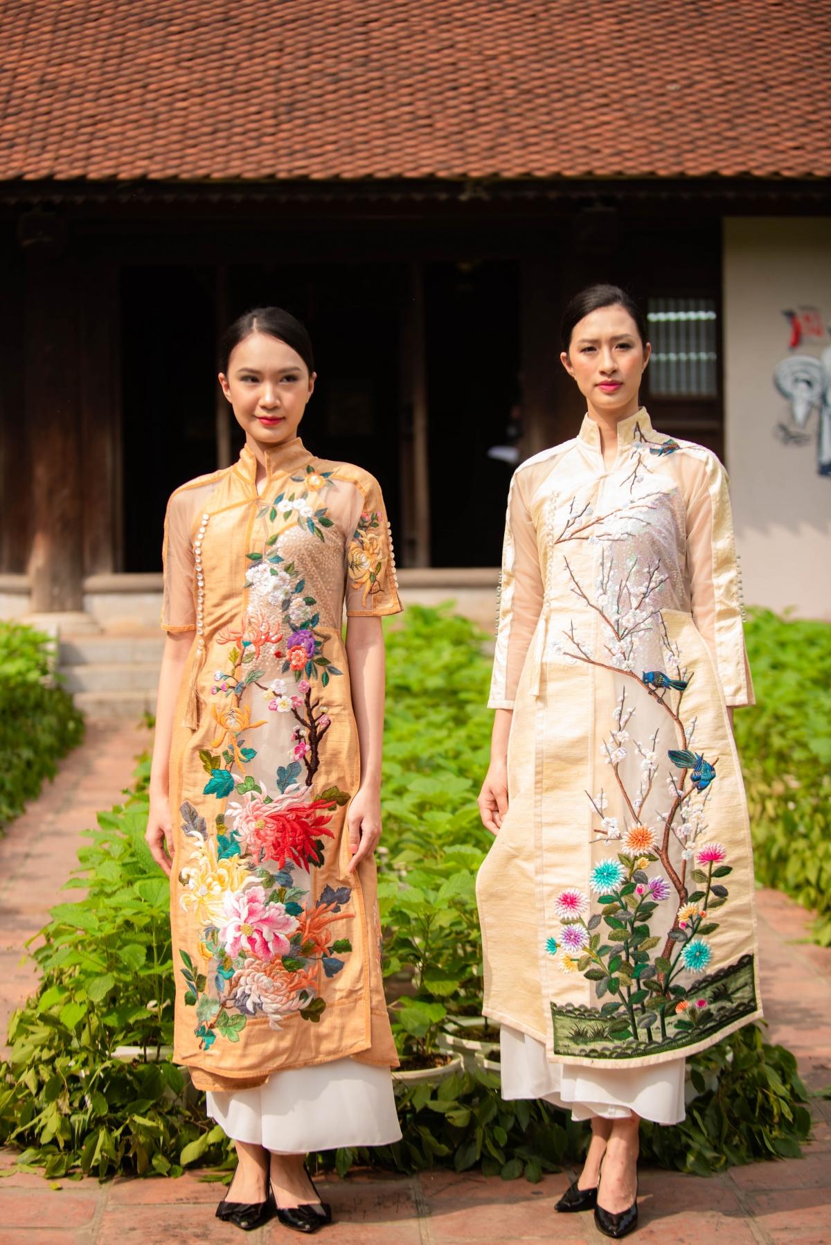 Ngoài ra còn có sự tham gia của 100 học viên của Học viện Phụ nữ, 40 thiếu nhi của đội tuyển trống thiếu nhi Hà Nội, cùng 90 người mẫu của TP Hồ Chí Minh và Hà Nội.
