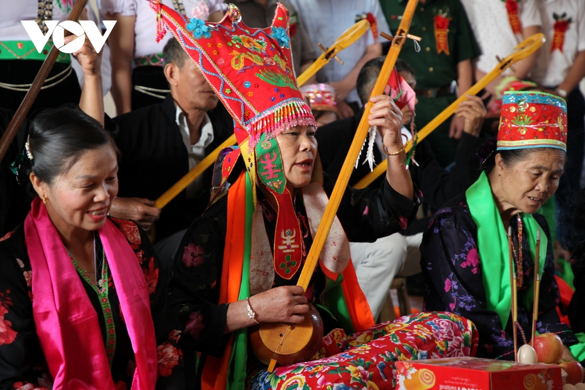 The Then Kin Pang festival is held annually in order to pray for favourable weather conditions and bumper crops.