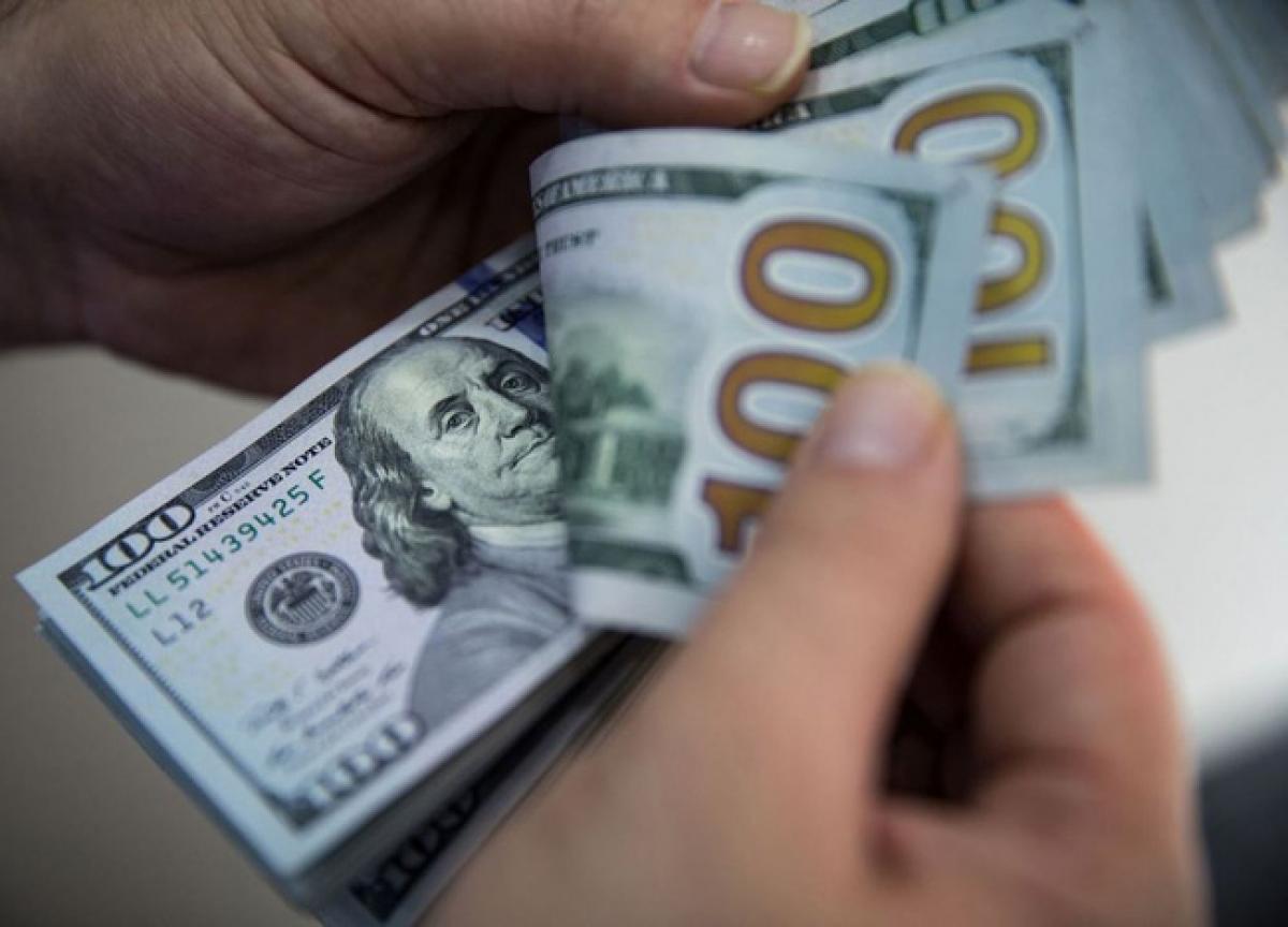 IMF dự báo, lạm phát ở Mỹ sẽ đạt 2,25% năm 2022, chỉ cao hơn chút ít so với mục tiêu 2% mà FED đưa ra.(Ảnh: Bloomberg)