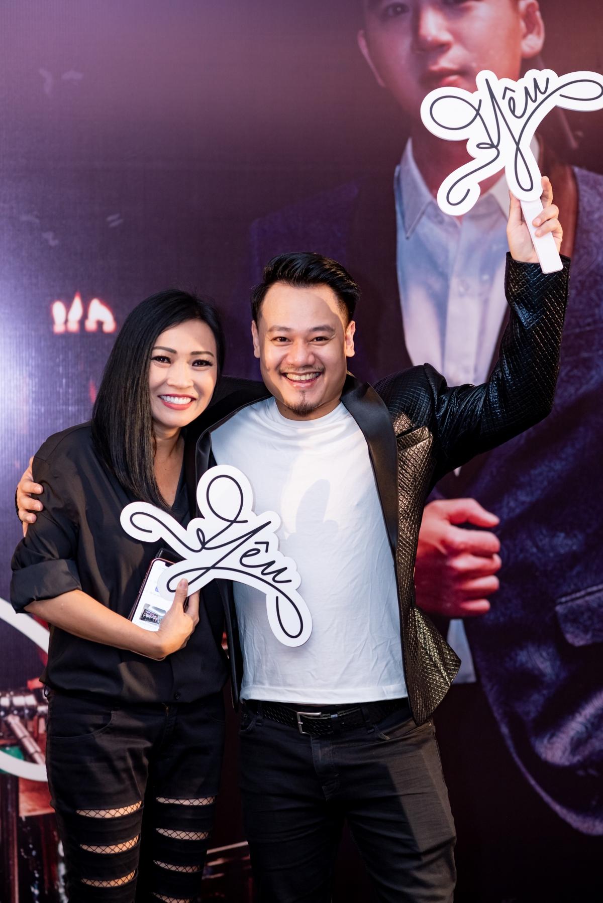 Ca sĩ Phương Thanh và nhạc sĩ Nguyễn Đức Cường.