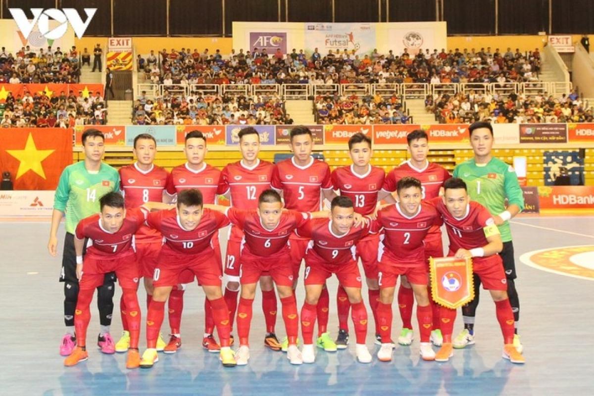 ĐT Việt Nam sẽ đá play-off để tranh vé dự World Cup Futsal 2021