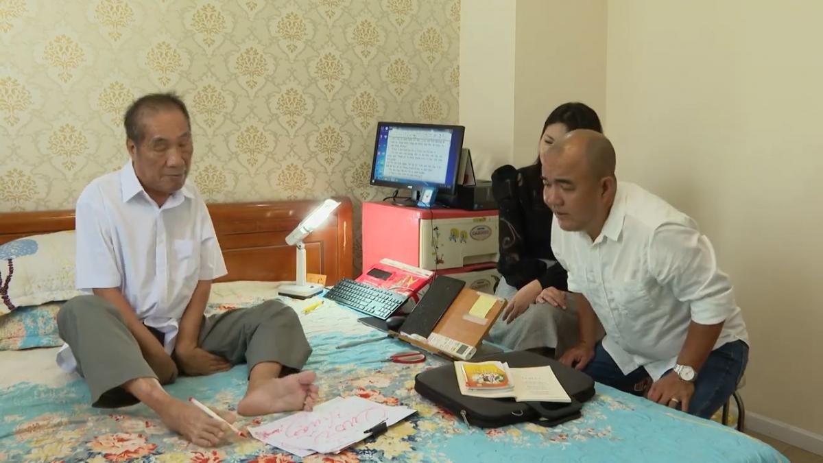 Thầy giáo Nguyễn Ngọc Ký.