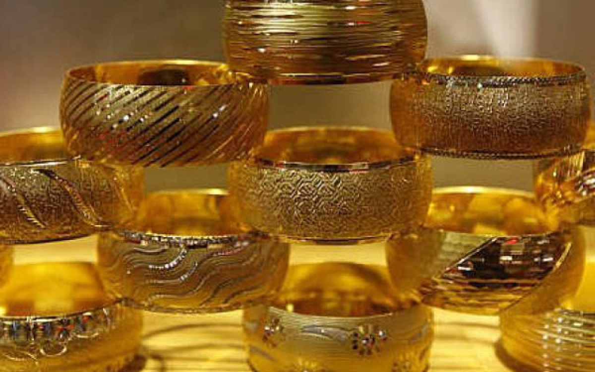 Thời gian gần đây, ghênh lệch giữa giá vàng trong nước và trên thế giới bị nới rộng. (Ảnh minh họa: KT)