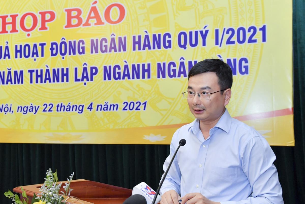 Ông Phạm Thanh Hà - Vụ trưởng Vụ Chính sách tiền tệ, Ngân hàng Nhà nước
