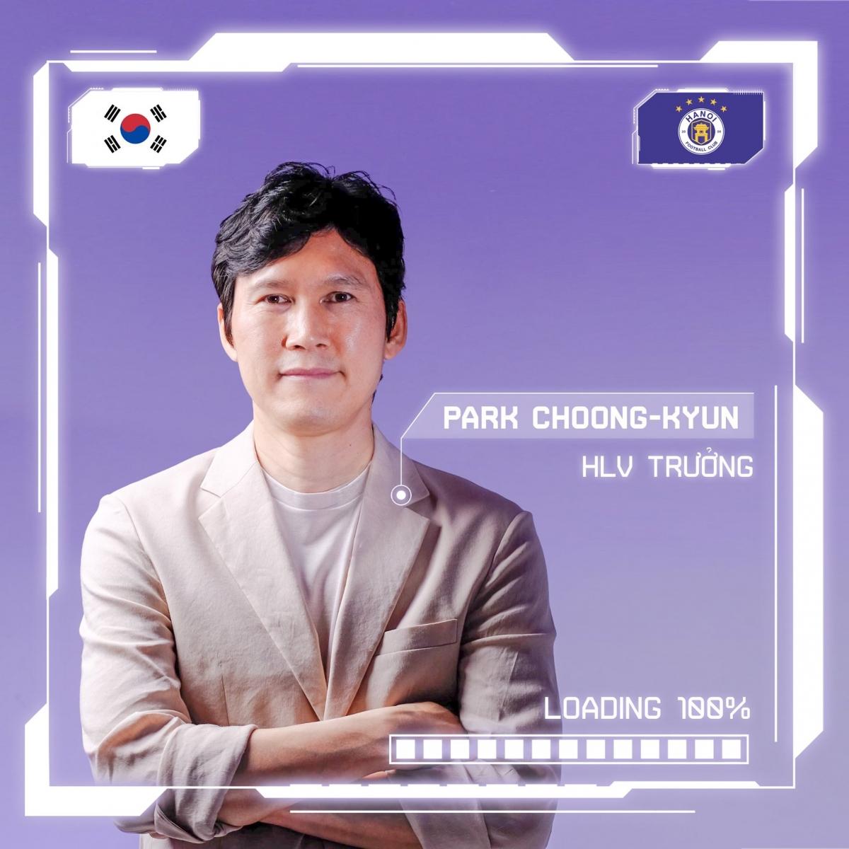 Hà Nội FC bổ nhiệm HLV Park Choong Kyun. (Ảnh: Hà Nội FC)