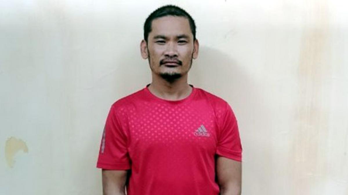 Đối tượng gây án tại cơ quan điều tra. Ảnh: CA tỉnh Quảng Ninh.