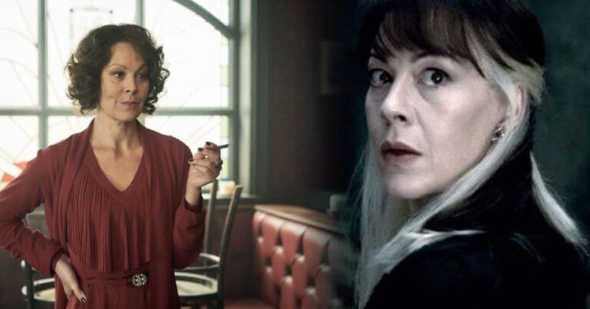 """Trong sự nghiệp của mình, Helen được biết nhiều với vai diễnNarcissa Malfoy trong loạt phim """"Harry Potter"""" và Polly Grey trong """"Peaky Blinders""""."""