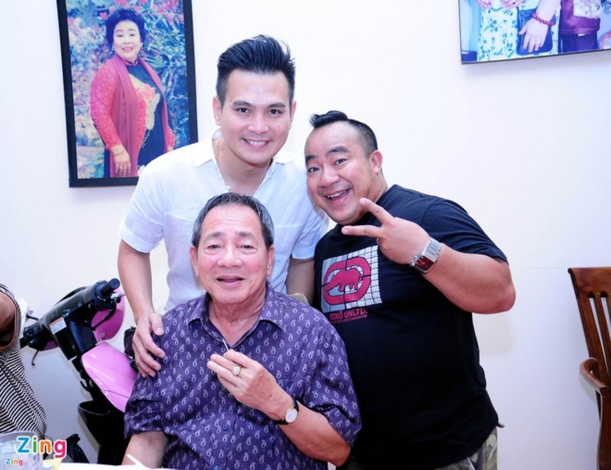 Nghệ sĩ Đức Lang là cha của diễn viên Hiếu Hiền. Ảnh:Lê Tuấn.