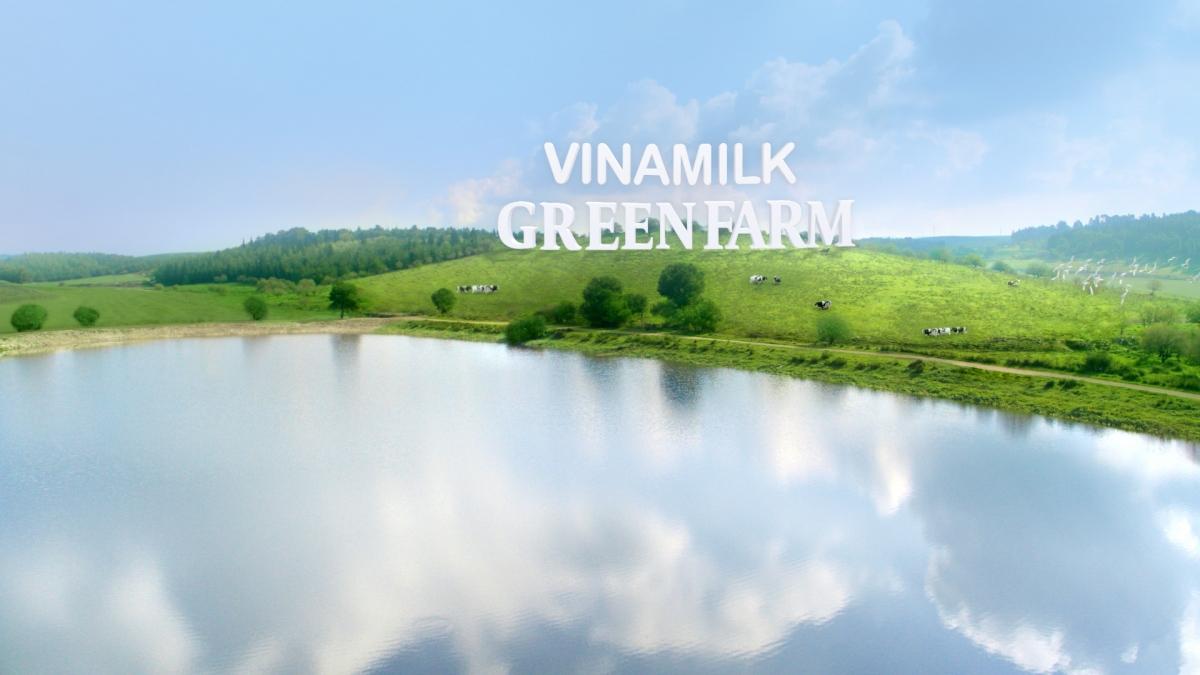 Mô hình trang trại sinh thái Green Farm là bước tiến của Vinamilk trong quá trình phát triển chăn nuôi bò sữa theo hướng bền vững.