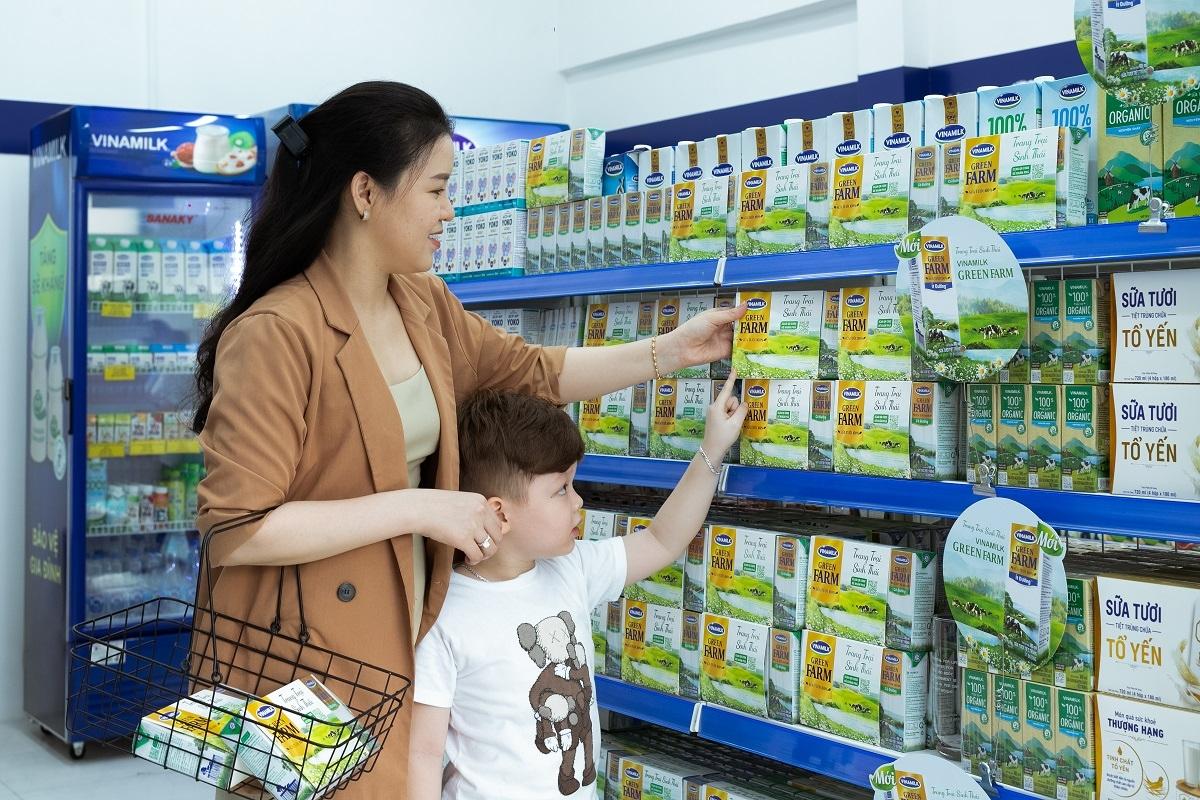 Sữa tươi Vinamilk Green Farm – sản phẩm mới nhất vừa được Vinamilk ra mắt đã có mặt tại các cửa hàng trên toàn quốc