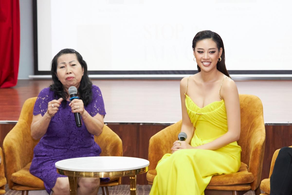 """Khi nói về dự án OBV của mình, Khánh Vân không kìm được nước mắt: """"Vân luôn tự hứa với lòng mình rằng, cho đến khi nào vẫn còn cơ hội, Vân sẽ luôn thực hiện sứ mệnh này bằng tất cả trái tim mình..."""