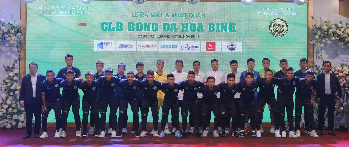 Hoa Binh FC sẽ thi đấu ở Giải Bóng đá Hạng Nhì Quốc Gia 2021