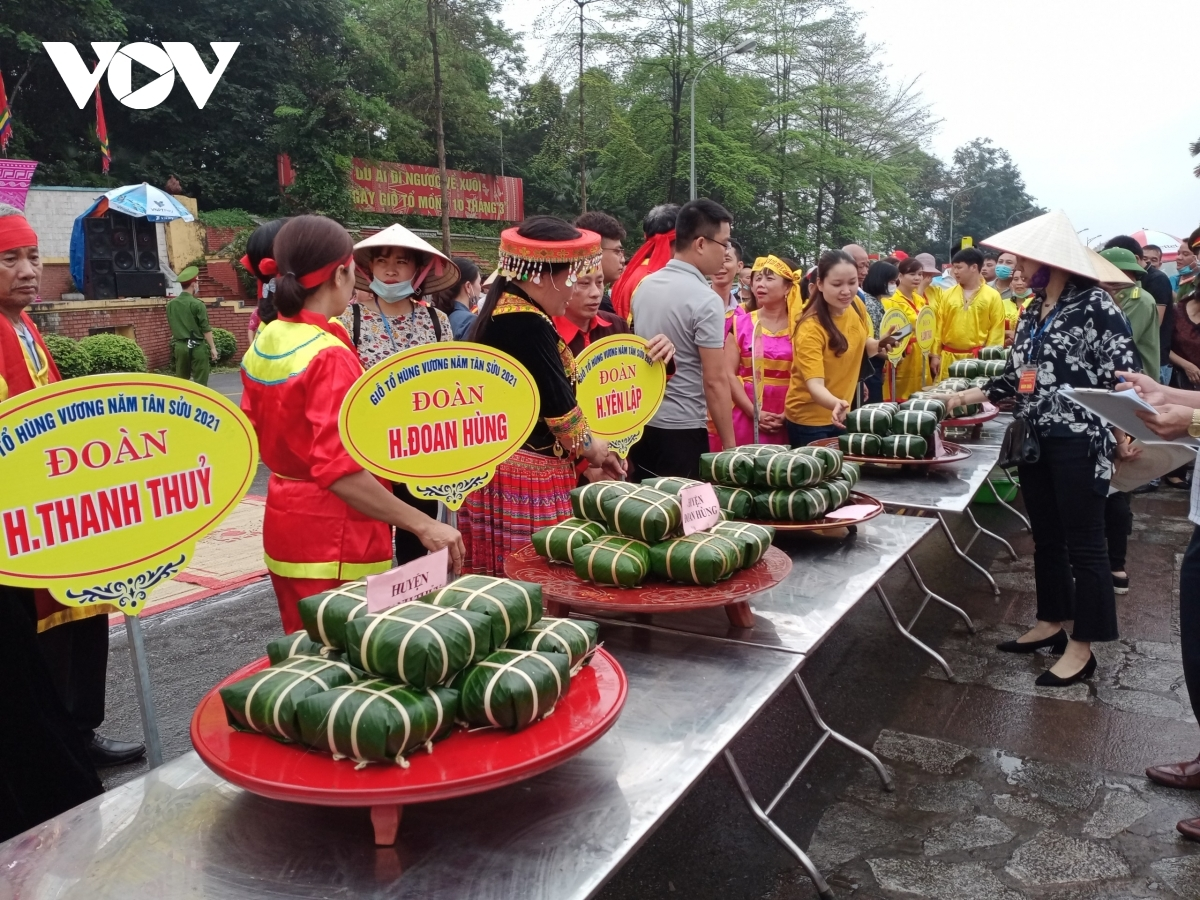 The event marks the seventh time the competition has been held as part of an annual national festival to honour Hung Kings believed to be the founders of the Vietnamese nation.