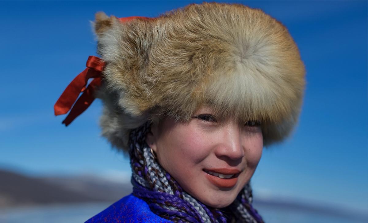 Phụ nữ Mông Cổ. Ảnh: Ayan Travel