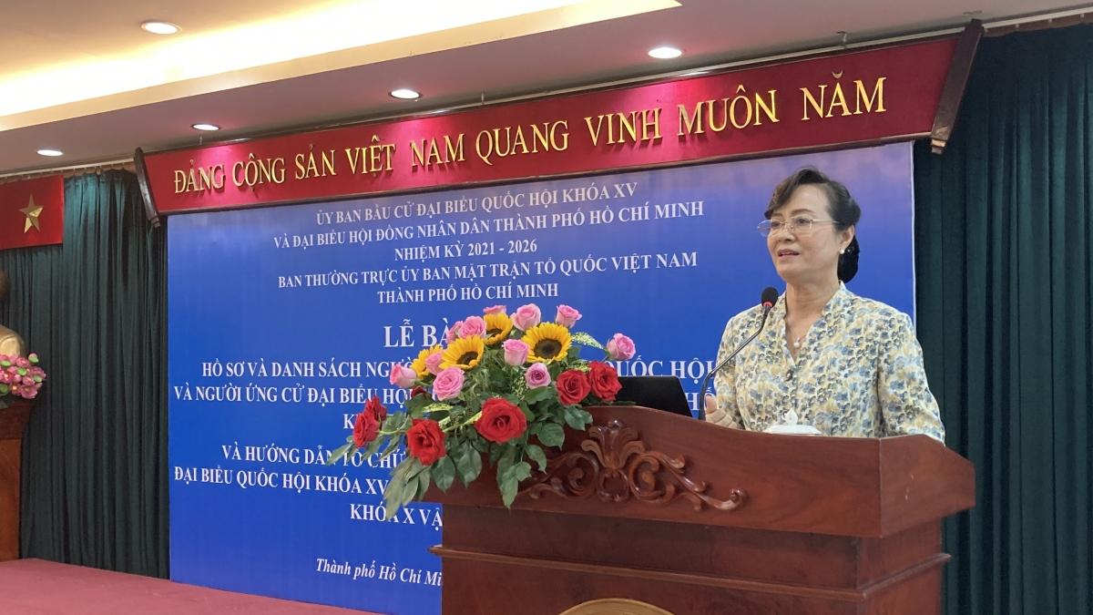 Bà Nguyễn Thị Quyết Tâm, nguyên Chủ tịch HĐND TPHCM.