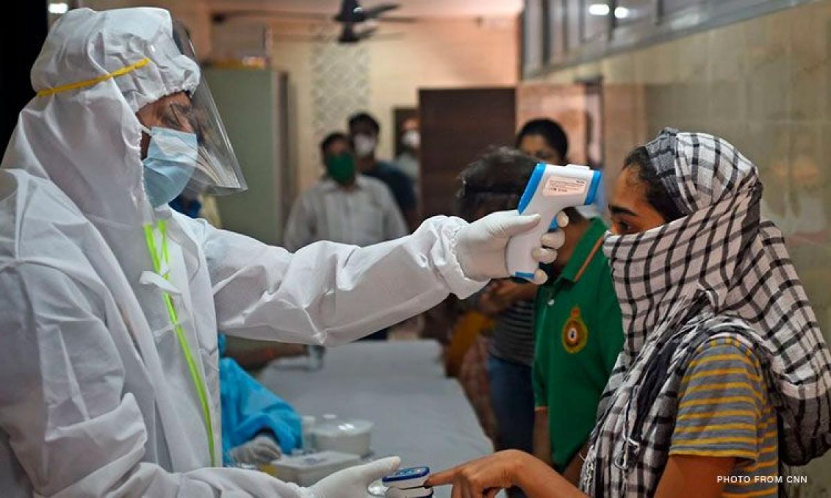 Ấn Độ đang trải qua đợt bùng phát đại dịch tồi tệ nhất thế giới. (Ảnh: CNN Philippines)