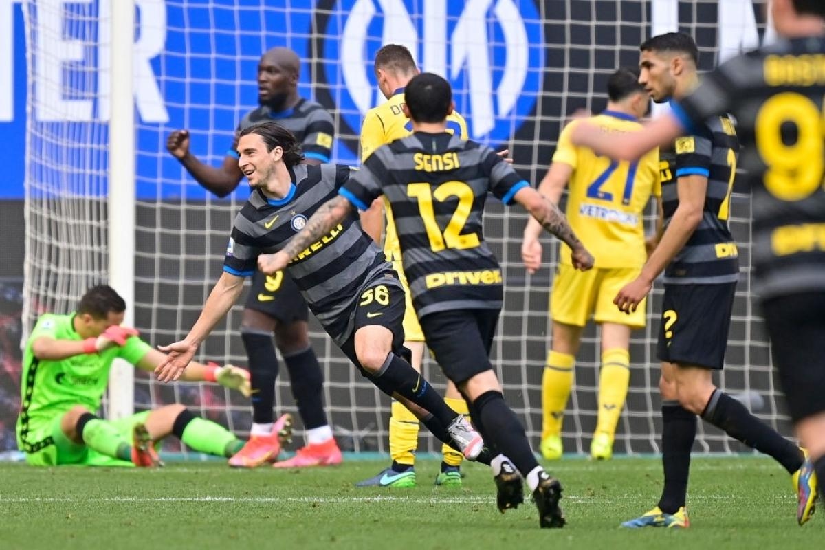 Matteo Darmian ghi bàn thắng duy nhất của trận đấu (Ảnh: Getty).
